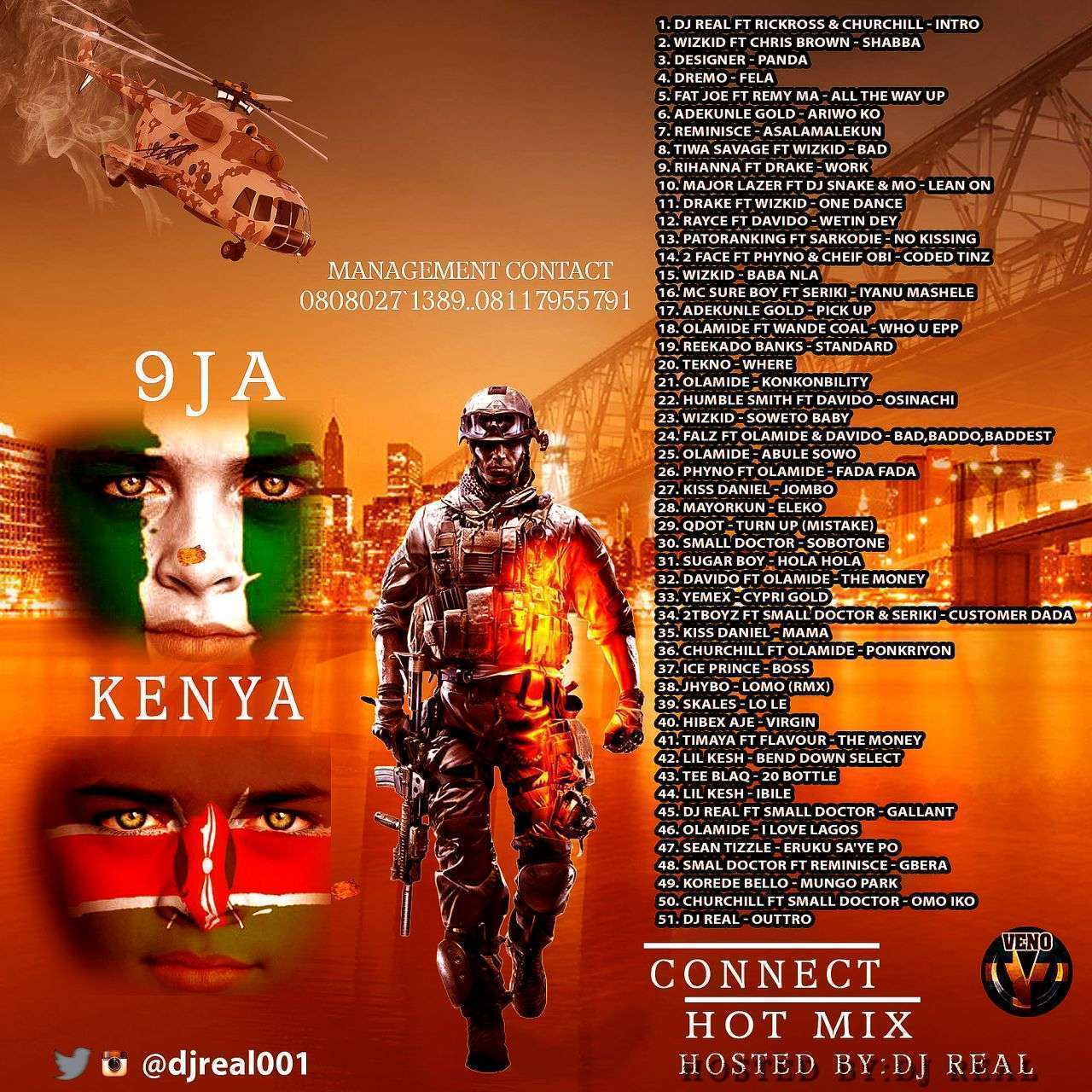 DJ MIX: DJ Real - Naija and Kenya Connect Mixtape