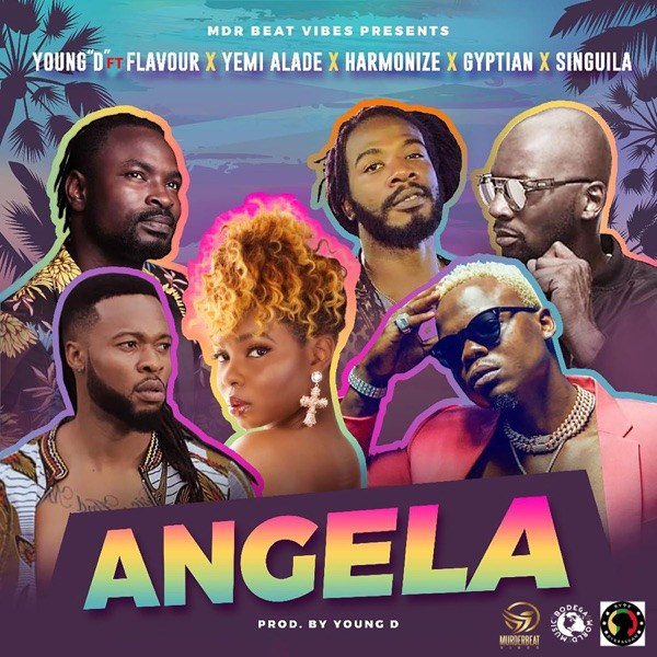 DOWNLOAD Young D - ANGELA ft  Flavour, Yemi Alade, Harmonize